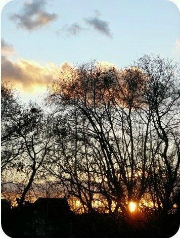 Quartier Drouot - Le coucher de soleil