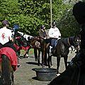 balade à cheval médiévale - Abbaye de Hambye (42)