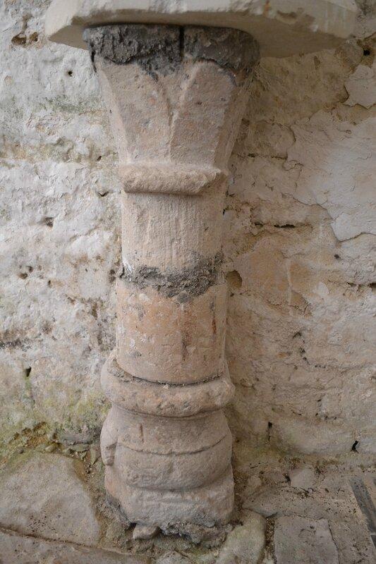 Ancien prieuré fontevriste Elément lapidaire fontevriste