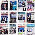 Les unes du 7 mai 2012