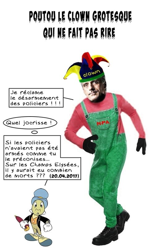 poutou-clown-grotesque-bulles