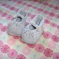 petits chaussons de princesse en gong