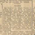 Lundi 26 janvier 1942