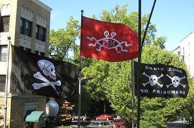à flags