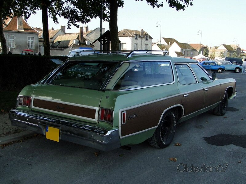 chevrolet caprice estate wagon 1974 b