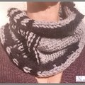 Snood-bicolore-noiretgris