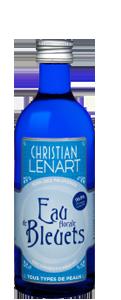 eau de bleuet christian lebart