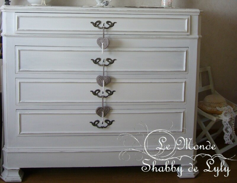 Déco Shabby commode2