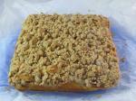 Crumb cake aux mirabelles