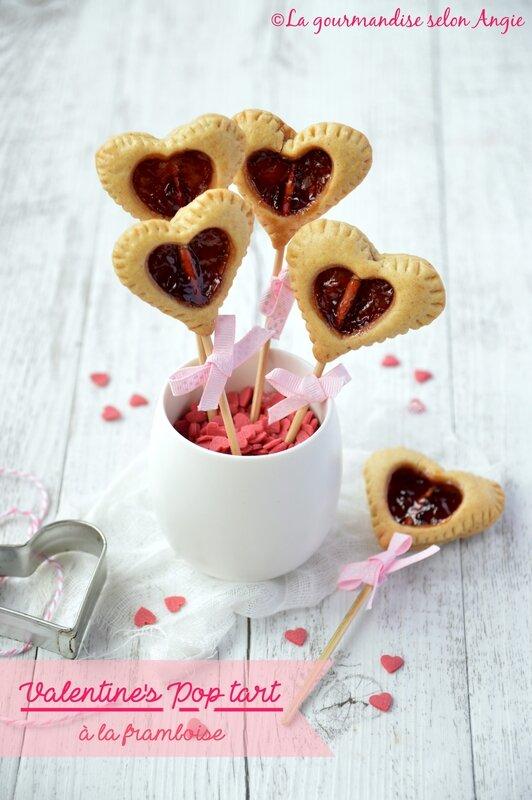 valentine's pop tart