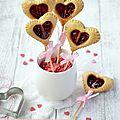 Valentines's pop tart {à la framboise} #vegan