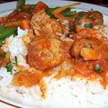 Boulettes de viande aigres-douces ,,,cuisine juive
