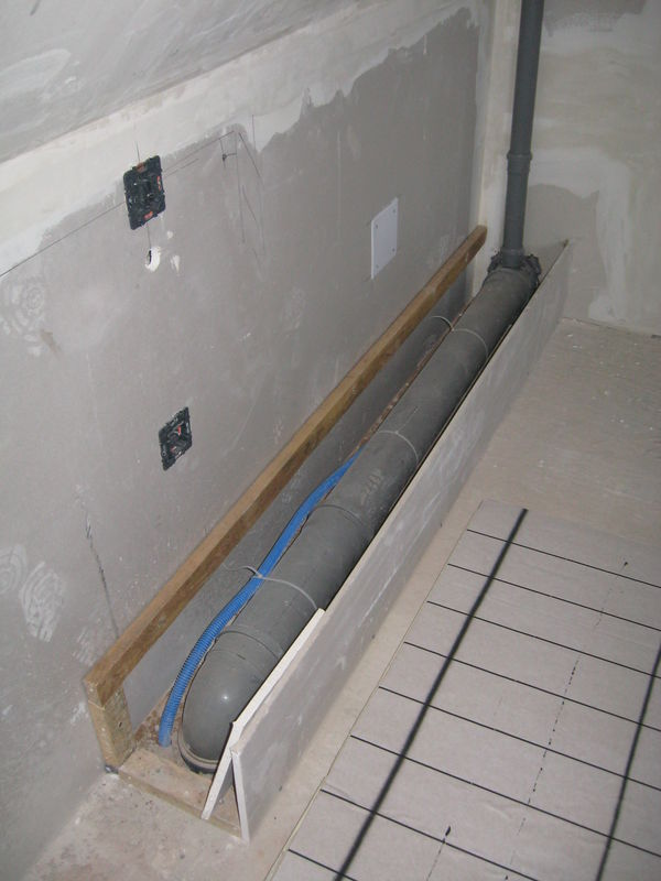 isolation chauffage au sol wc notre future maison. Black Bedroom Furniture Sets. Home Design Ideas