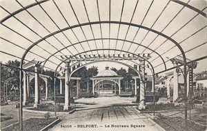 CPA Belfort La Roseraie 1931-32