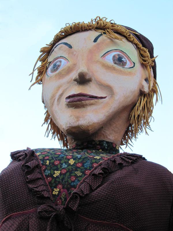 SAUVE Compagne de Saint-Nicolas Marionnette géante 2009