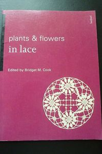 Plants and flowers in lace