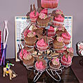 Cupcakes cheval