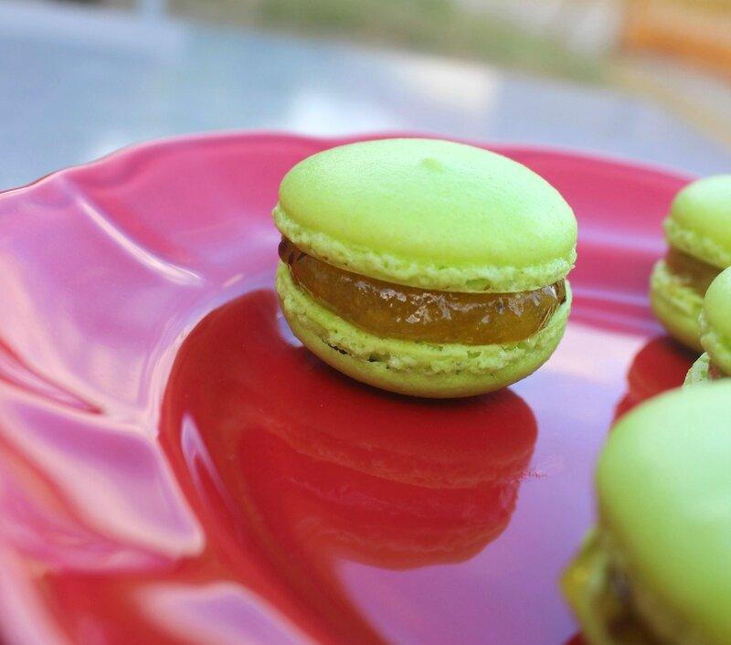 Macarons kiwi jaune passion (3)