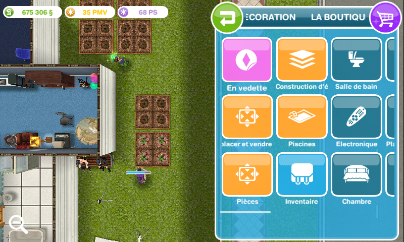 Les sims freeplay r novations multi tages for Modele maison sims freeplay