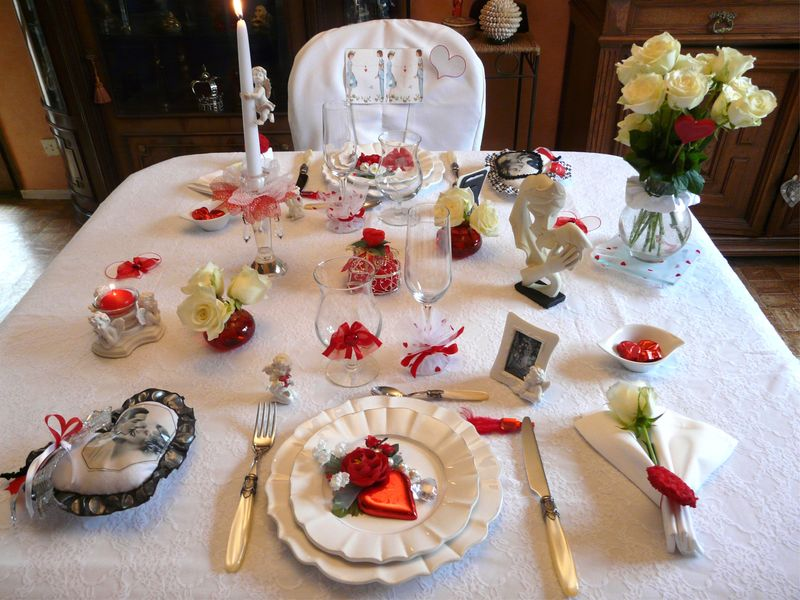 P1020671 photo de table saint valentin deco de tables - Table de saint valentin ...