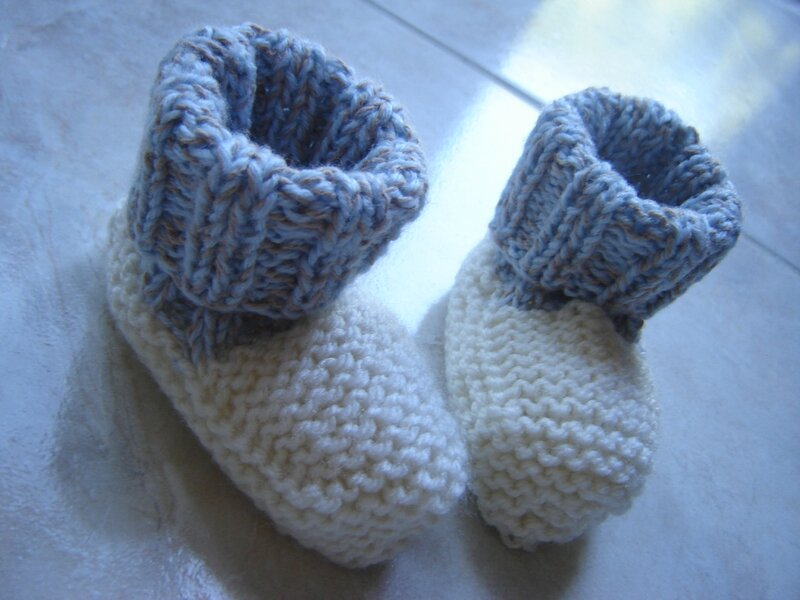 Chaussons bicolores3