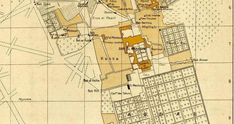 Medina-agdal-1920-plan