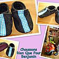 chaussons Benjamin 2