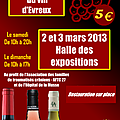Salon du vin d'Evreux (2 et 3 mars 2013)