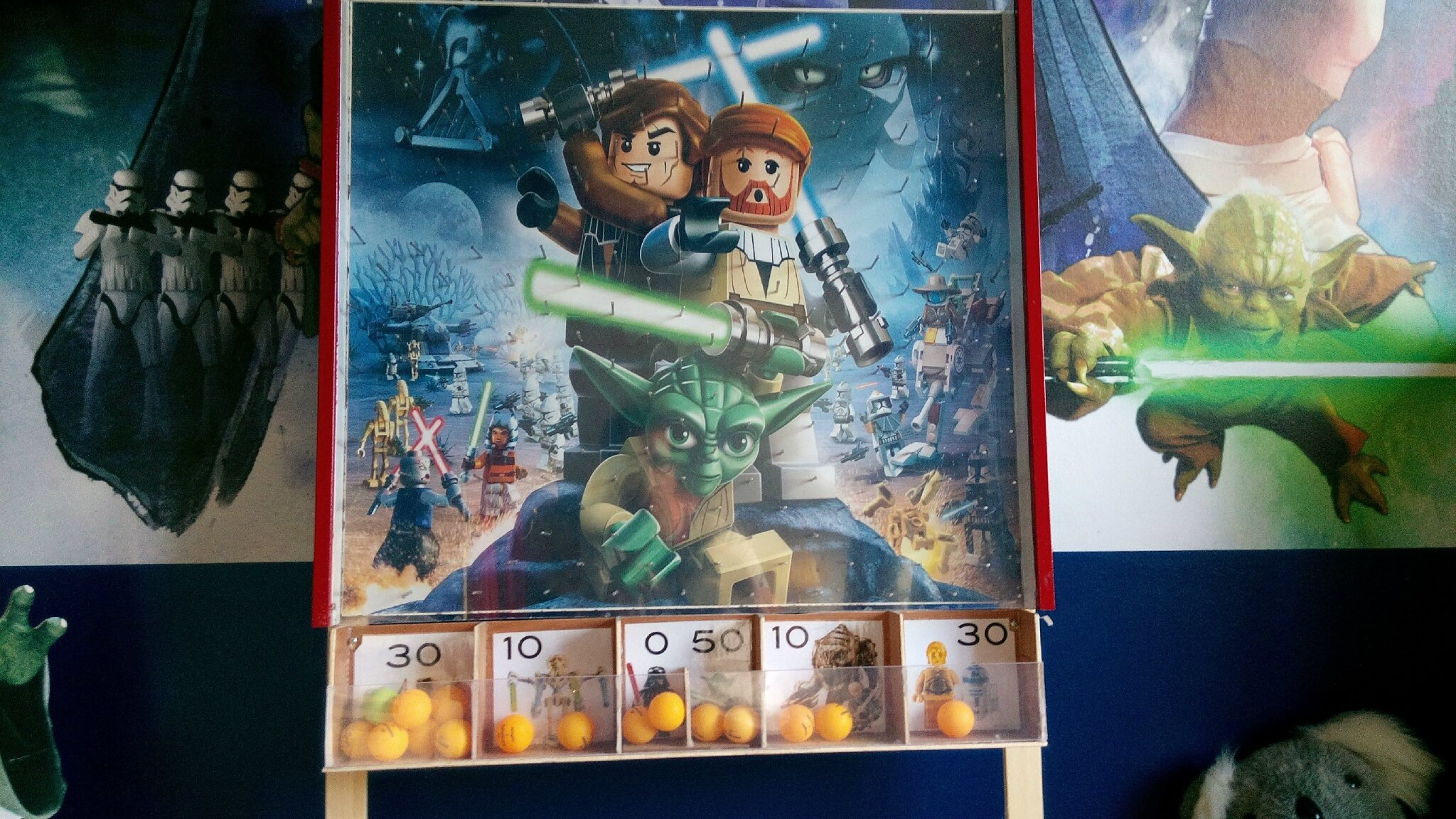Deco lego star wars for Chambre lego