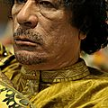 1984 - tensions entre la libye et la france