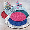 - CROCHET - tapis .