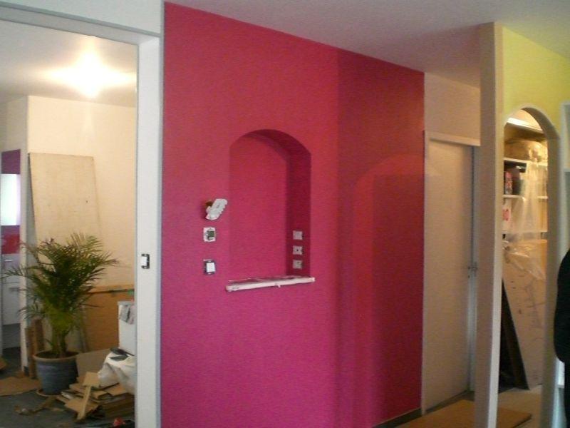 La peinture construction de notre maison for Cuisine chocolat et vert anis