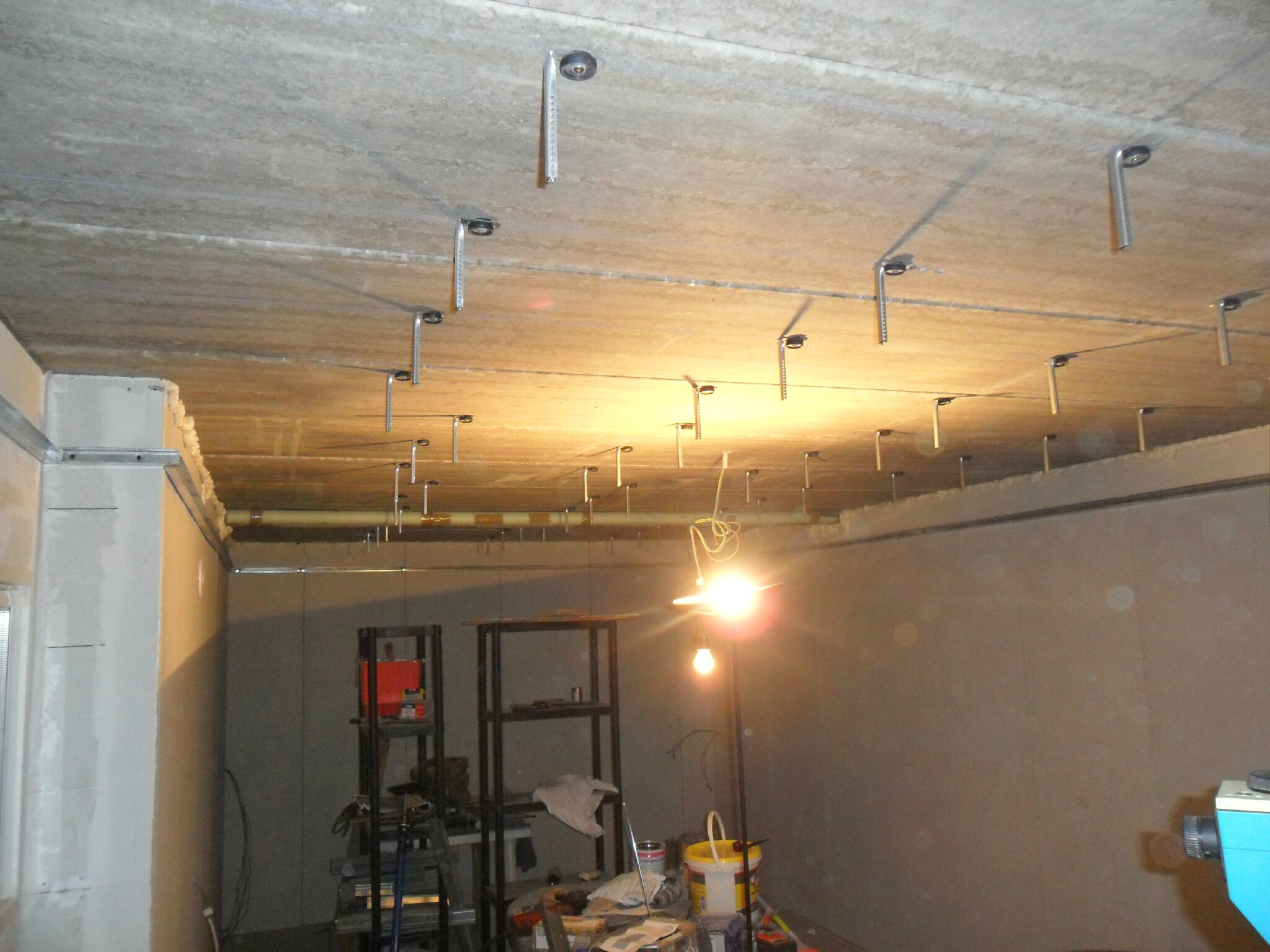 Suspension pour plafond bas