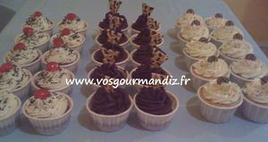 Assortiment cupcakes Vos Gourmandiz