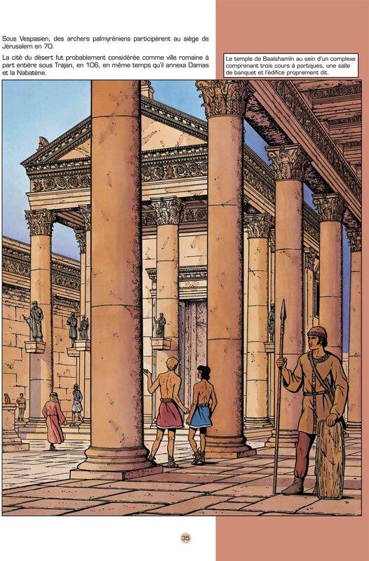Le Temple de Baalshamin à Palmyre