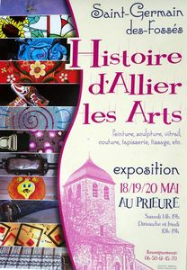 Affiche expo St Germain