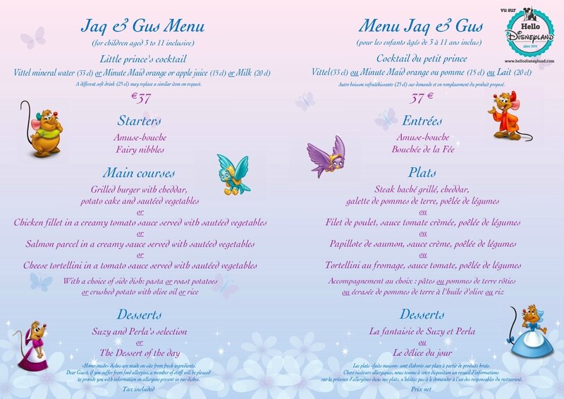 menu-restaurant-disneyland-paris-Auberge-cendrillon-enfants