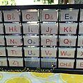 Le petit meuble alphabet