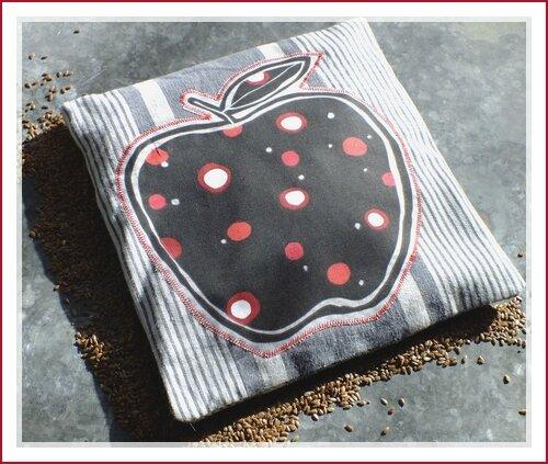 bouillotte sèche graine de lin mamz'elle parisette 5cb