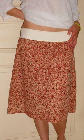Jupe florale (2)