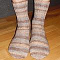 Chaussettes fabel 651 (désert poudré)