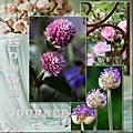 Bonne journée - scrap floral