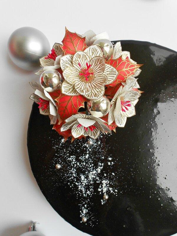 Entremets chocolat et framboise (5)