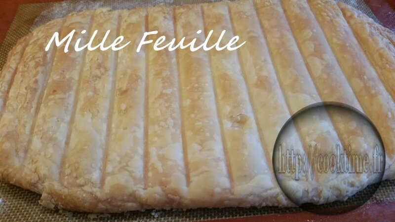 Mille feuille Thermomix 1