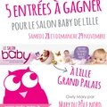 ENTREE A GAGNER CONCOURS SALON BABY