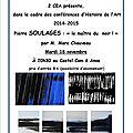 Soulages : peintre et graveur français