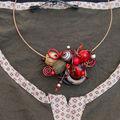 collier + tenue pour Sarah