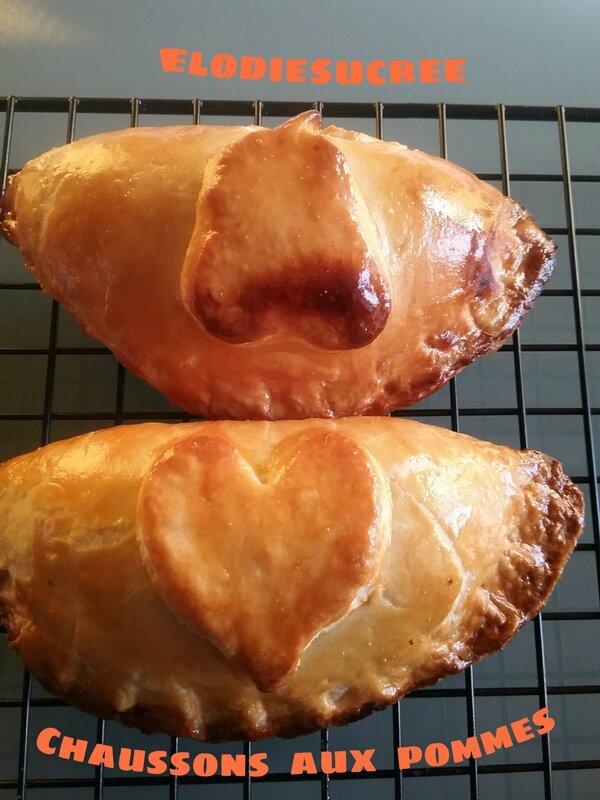 Chaussons aux pommes caramélisées à la cannelle 077