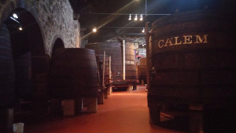 Visite du Chais du Porto Calem