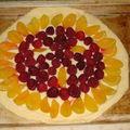 2008 05 27 Une tarte a la pate feuilleté que Cyril a fait avant cuisson